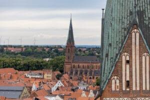 Lüneburg, Blick vom Wasserturm